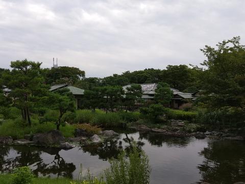 名古屋市熱田区の白鳥庭園で謎解き