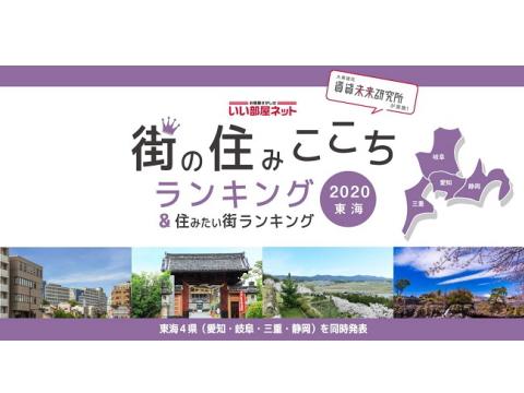 東海4県 街の住みここちランキング 2020