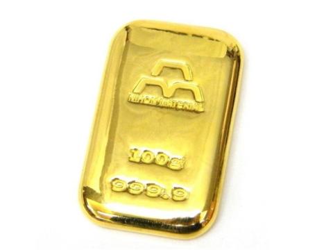 日本製の純金インゴット